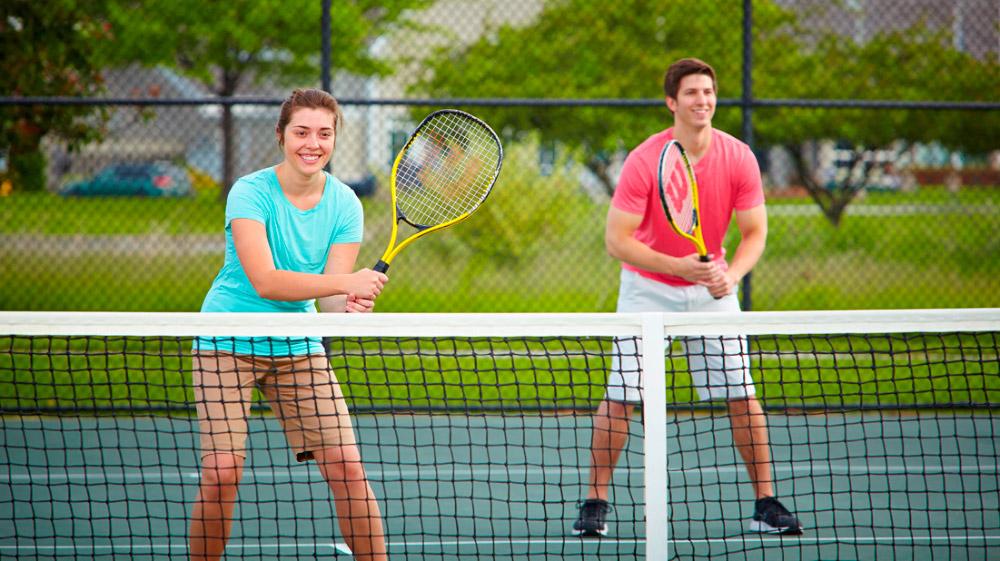 Tenis en pareja